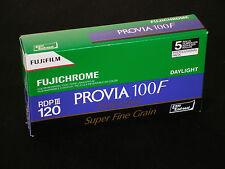 FUJIFILM  PROVIA  100 F  Rollfilm 120   5 Filme  MHD/expiry date 08/2018