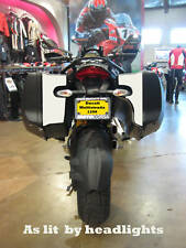 Ducati Multistrada 1200 hardbag reflective decals up to 2014