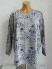 840 Sheego Shirt Sweatshirt Langarm Gr NEU 40//42 mit Muster