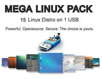 15 Linux on USB: Mint, LXLE, Lubuntu, Bodhi, Antix, Q4, TinyCore, Chaletos, 4m..