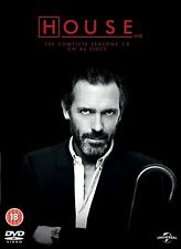 "HOUSE MD COMPLETE SERIES COLLECTION 1-8 DVD BOX SET 46 DISC ""NEW&SEALED"""