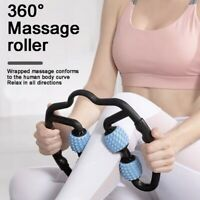 Foam Roller Massager Trigger Point  Arm Leg Tissue Muscle Fitness Workout Yoga