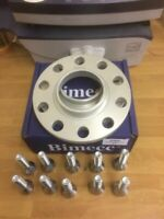 Mercedes Hubcentric 10mm Wheel Spacers  C E CLASS 5x112 66.6 & Bolts 12x1.5