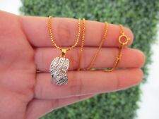 1.45 Carat Diamond Twotone Gold Necklace 18k codeNx02 sepvergara