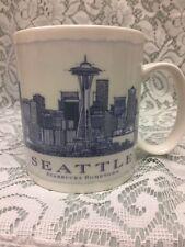 SEATTLE Starbucks Coffee Cup / Mug Architect Collector Series 2006 City Citymug
