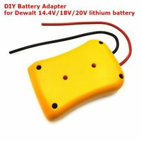 DIY Battery Adapter for DeWALT 20v Max 18v Dock Power Connector 12AWG Robotics