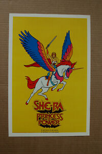She Ra Princess of Power Lobby Card Size TV Show Promotional Poster Animated