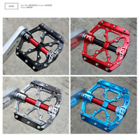Universal Flat Wide Road Mountain Bike Bicycle Pedals MTB BMX Pedal NEW