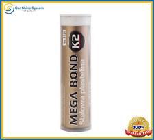 K2 Mega Bond Steel Epoxy Putty Quick Cold Weld Repair Fix Metal Wood Plastic 60g