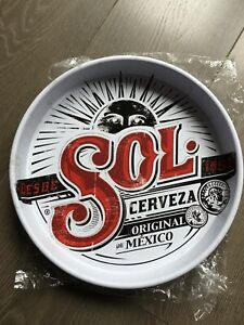 sol cerveza Lager Beer Drinks Tray Brand New Pub Bar Man Cave