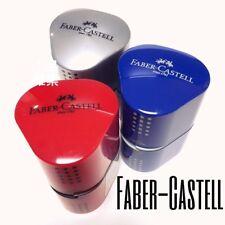Faber Castell Sharpener Triosharpener Grip 2001 Jumbo Regular Colored Pencil New