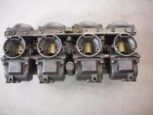 1985 XJ700X MAXIM X 700 YAMAHA Carburator Set 4 used 5521-36