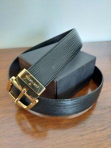 Louis Vuitton Epi Leather Belt 31in