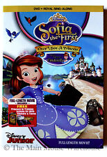 Disney Junior Sophia The First DVD Once Upon a Princess Cinderella Visit + Bonus