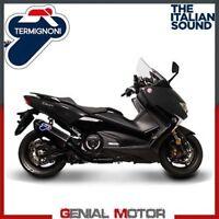 Echappement Complete Termignoni Carbone Coll Noirs Yamaha T Max 530 2017 17