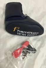 F2 Golf Hamilton Series Generic Blade Putter Cover Headcover (Weights, Tool)