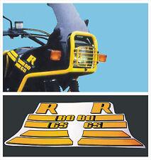 BMW R 80 GS Nero ad gialli  - adesivi/adhesives/stickers/decal