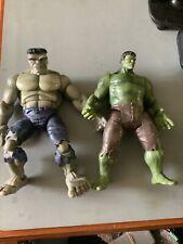 Marvel legends ToyBiz Grey Hulk Loose / Green Hulk