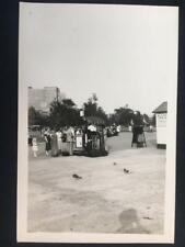 "1933 ""Guess Correct Weight"" Battery Park Manhattan NYC Old Original Photo T352"
