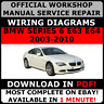 # OFFICIAL WORKSHOP Service Repair MANUAL for BMW SERIES 6 E63 & E64 2003-2010 #