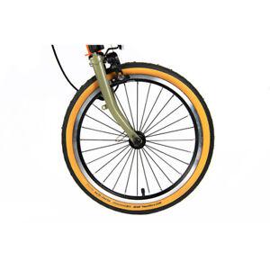 Schwalbe Marathon Racer Tan wall 32-349 Tyre x 2 Brompton - CHAPT3  🌏 shipping