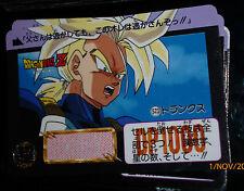 DRAGON BALL Z DBZ HONDAN PART 13 CARDDASS BP CARD CARTE 523 BANDAI JAPAN 1992 NM