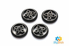 4x Lego 36 Tooth Beveled Gears - 32498