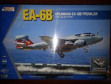 GRUMMAN EA-6B PROWLER (w/Tractor included)  KINETIC 1/48 PLASTIC KIT