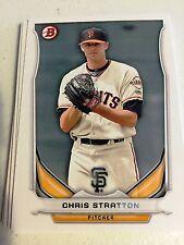 2014 Bowman Draft  TP-79 Chris Stratton 10 Card Base Paper Lot -San Francisco Gi