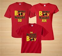 The Incredibles Disney theme Birthday Boy Family Birthday matching T-Shirts