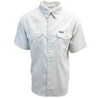 Columbia Men's Pixel Utilizer II Solid Short Sleeve Shirt (Retail $60.00)