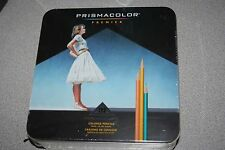 Prismacolor Premier 132 Colored Pencils Tin 1753456 New