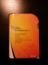 Microsoft Office 2007 Professional / Vollversion / deutsch / Retailbox 269-10346