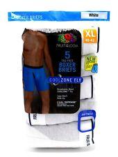 20 White Xl 40-42 Boxer Briefs CoolZone Mesh Fly Fruit Of The Loom Eg 102-107 Cm