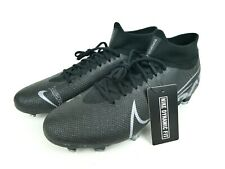 Nike Mercurial Superfly 7 Pro FG Mens Size 9.5 Black Soccer Cleats AT5382-001