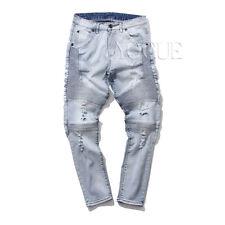 Denim Destroyed Jeans for Men   eBay