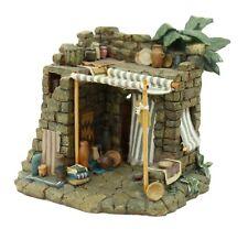 Vintage Roman Inc 1997 Tropical Composite Stone House Tabletop Decoration