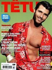 Tetu Magazine #177 5/2012 gay men RYAN BARRETT MARTIN ARRARTE