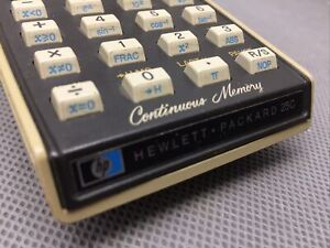 HP-25C Scientific Calculator - BOXED: Manuals, Case, Charger, Very Good