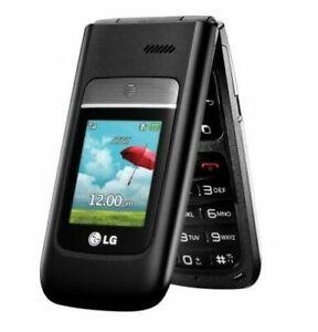 LG A380 - Black / Gray AT&T 3G Cellular Flip Phone GSM Unlocked T-Mobile