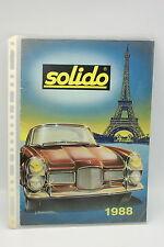 Catalogo - Solido - 1988