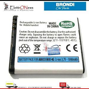 BATTERIA PER BRONDI AMICO MIO 4G Batteria per amico mio 4G di Qualità
