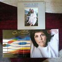 Carpenters 3 vinyl LP lot 1970-1983- Close To You - Passage - Voice Of The Heart
