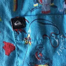 Men's Quicksilver Wild Tribal Stylee Hawaiian Shirt, Xxl