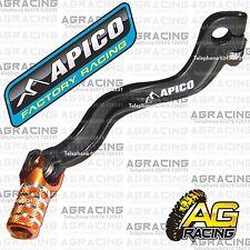 Apico schwarz orange gear pedal lever Schalthebel für KTM SX 65 2002 Motocross Enduro