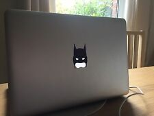 MacBook Pro/Air Adesivo Decalcomanie in vinile-BATMAN MASK-UK Venditore Apple Mac