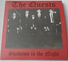 """The Quests Shadows In The Night / I'm Tempted  7"""" CLEAR vinyl Garage rock"""