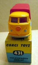 Corgi Toys, 431 Volkswagen Pick-Up,     original