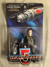 Londo Mollari Babylon 5 Action Figure with Transport Centauri Republic 1997 New