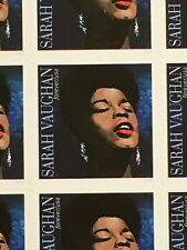 2016 sheet of 16 Music Icon Forever stamps - Sarah Vaughan Sc#5059